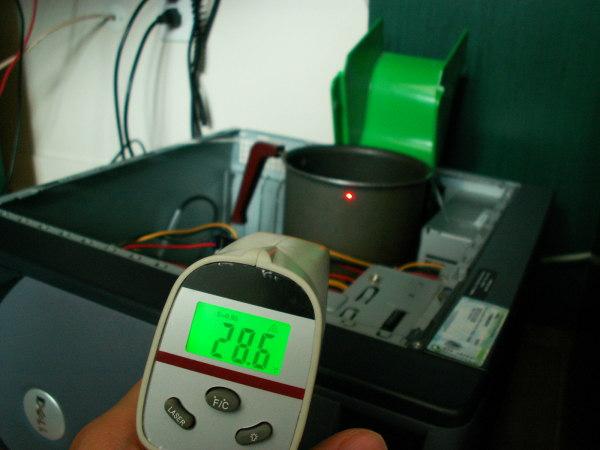 système de refroidissement à la casserole