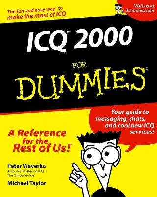 ICQ 2000 for Dummies