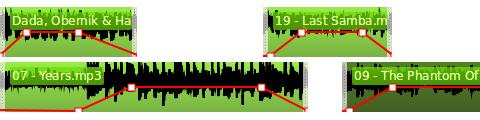 audio curves