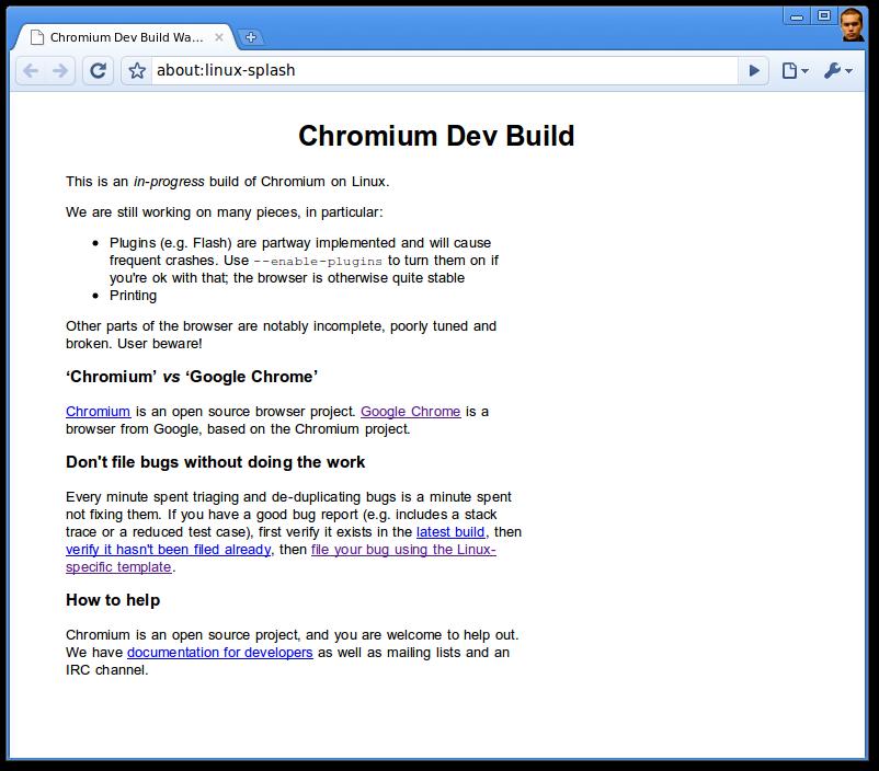 متصفح جوجل كروم نسخة محمولة - مفتوحة المصدر - Chromium 26 - الاصدار الاخير