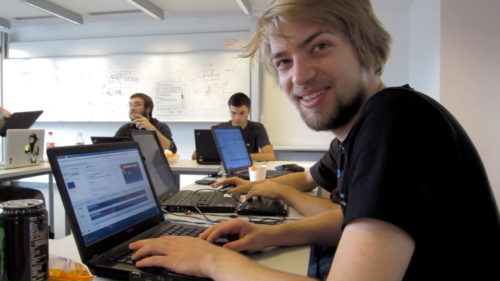 lubosz working on the transformation UI in 2011
