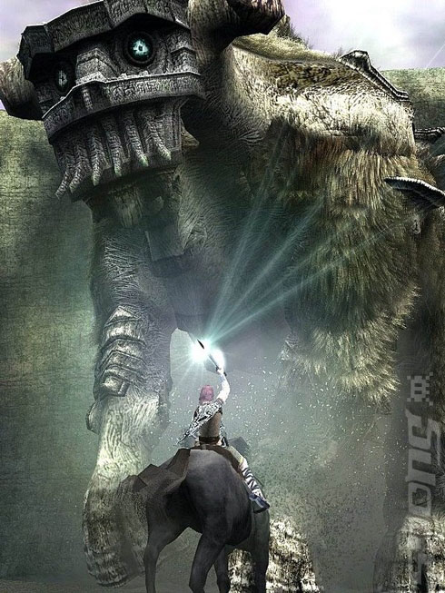 shadow of the colossus sword of light beams