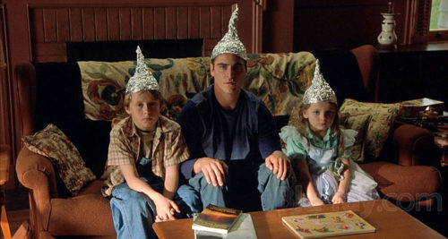 signs - tinfoil hats