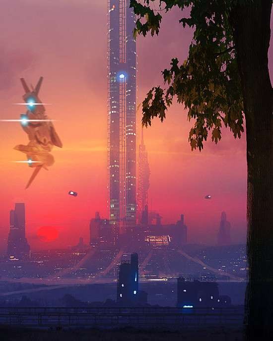 The Space Elevator, by Dusty Crosley